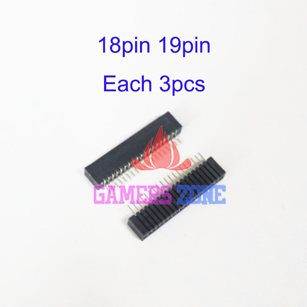Aipinchun 5pcs Lot Joystick Controller Conductive Film Sa1q42a Playstation 2 Wiring Diagram For Ps2 Flexible Ribbon Cable Socket Connector 18pin 19pin Block
