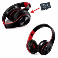 LYD 1 Camping Earphone Bluetooth Headphones Wireless Stereo Helmet Bass Music With SD Card Playback Charging