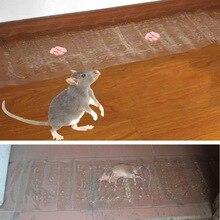 120 см* 28 см Мышь доска липкая клейкая крысоловка мышеловка вредителями отклонить прозрачный ковер 120 см* 28 см
