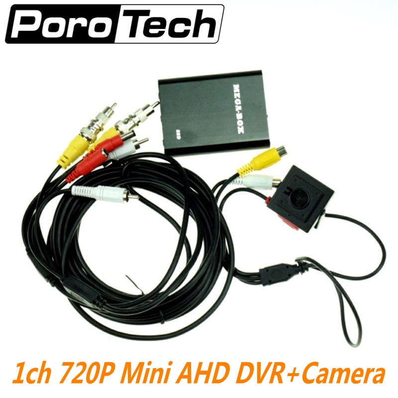 NEW HD 720P 1Ch Mini AHD DVR with AHD camera Car/CCTV Camera Car/Bus/Home Used 1 Channel CCTV DVR Motion Detect Support 128GB SD цены