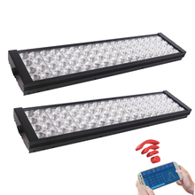 2pcs Marine Programmable led Aquarium Light Fish Tank Lamps 48 inch Coral Reef light Lighting