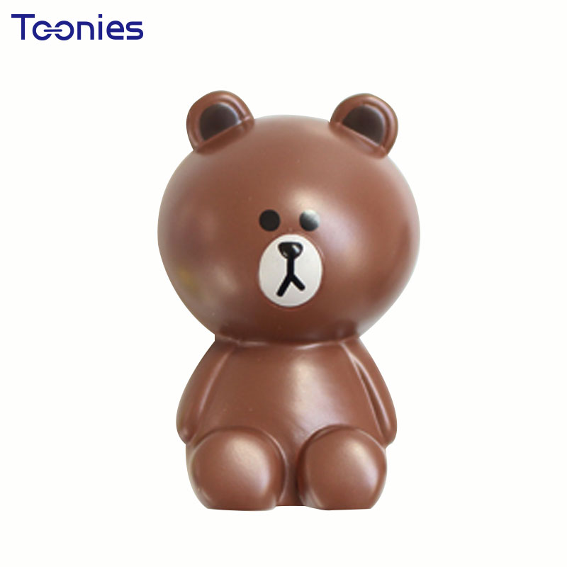 MINI Little Bear Chicken Car Perfume Air Freshener Lovely Creative Car Clips Seat Fragrance Air Conditioning Vent Accessories