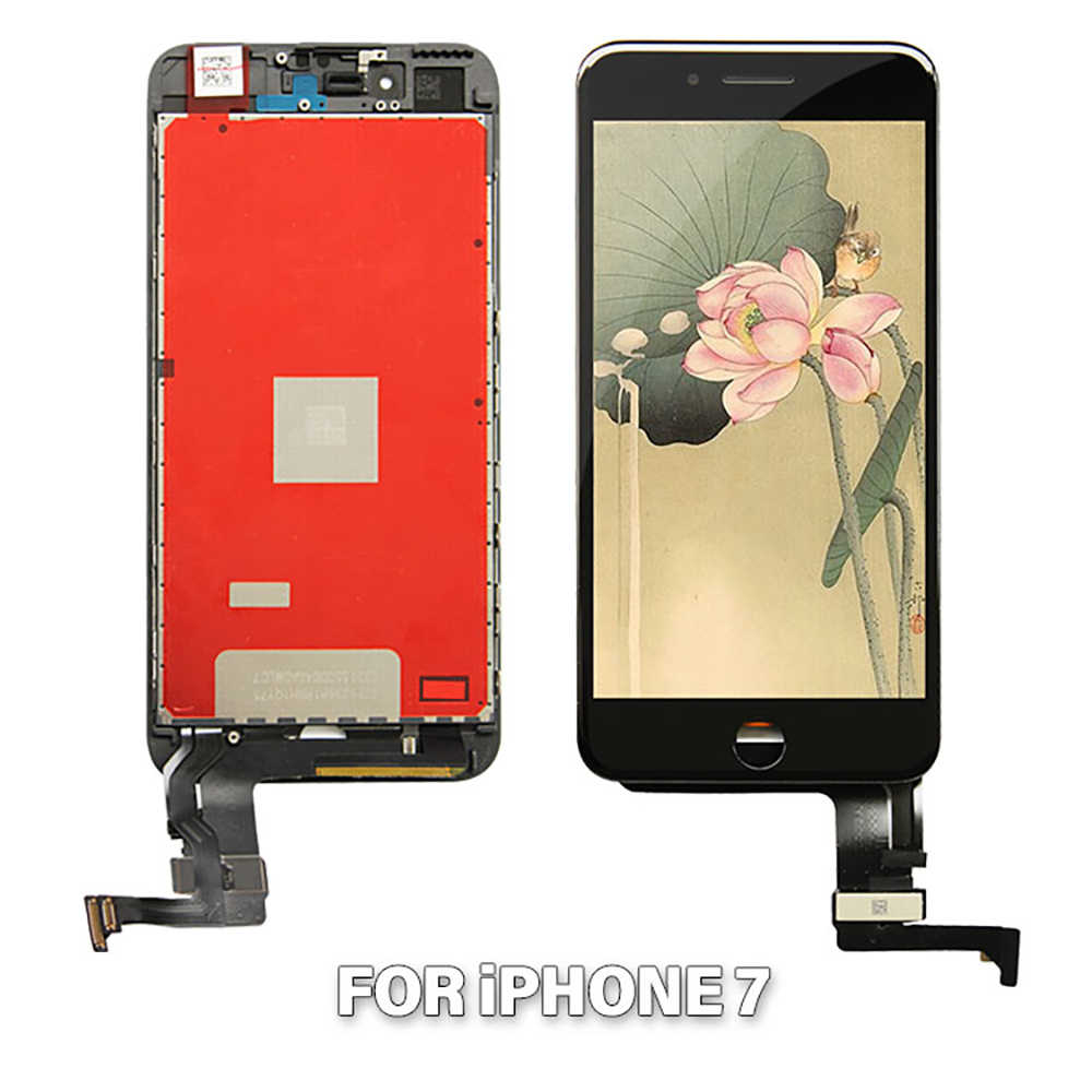 AAAAA LCD Display For iPhone 7 4.7'' LCD Touch Screen Digitizer For iPhone 7G i7 A1660 A1778 A1779 LCD Screen Assembly + Gift