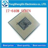 I7 640M CPU SLBTN Dual Core 2 8GHz L3 4M CPU Processor Works On HM55