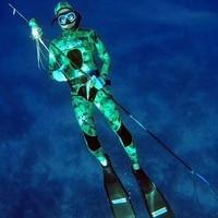 3,5 мм Для мужчин Водонепроницаемый полное тело с капюшоном Дайвинг костюм из двух частей подводное плавание серфинг костюм плотно Для мужчи