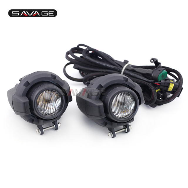 Front Head Light Driving Aux Lights Fog Lamp Assembly For Triumph