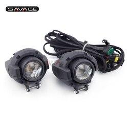 Przednia głowica światła jazdy Aux światła montaż lampy przeciwmgielnej dla Triumph Tiger 800/XC/XCX/XRX 1050/1200 akcesoria motocyklowe