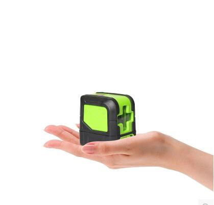 Free shipping IP54 Waterproof 2 Lines Laser Mini Portable Easy Taken Rotary Level Green Line Outdoor Laser Level free shipping wholesales laser 2 line lase level marker mouse se sl2