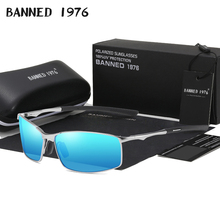 2019 latest  HD Polarized Sunglasses Men square Driving shad