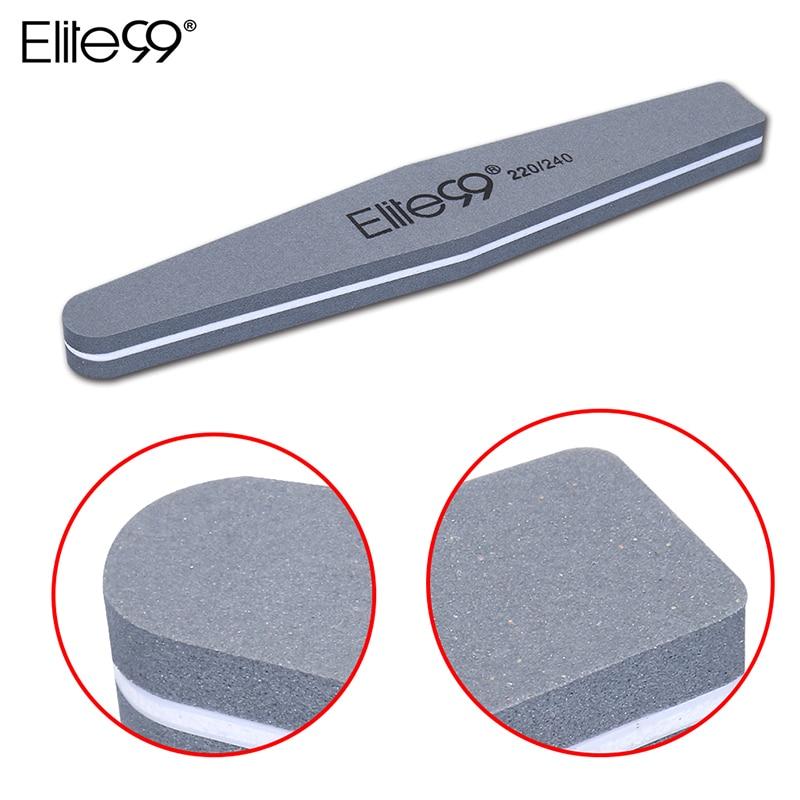 Elite99 220/240 Sanding Buffer Nail Files Sandpaper Salon Manicure UV Gel Polish Essential Accessories Pedicure Nail Tools