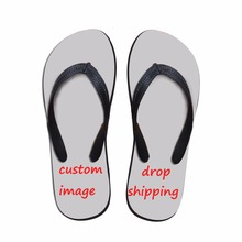 купить FORUDESIGNS Custom Women Flip Flops,Summer Beach Slippers for Drop Shipping Casual Women Soft Flat Flipflops High Quality по цене 791.29 рублей