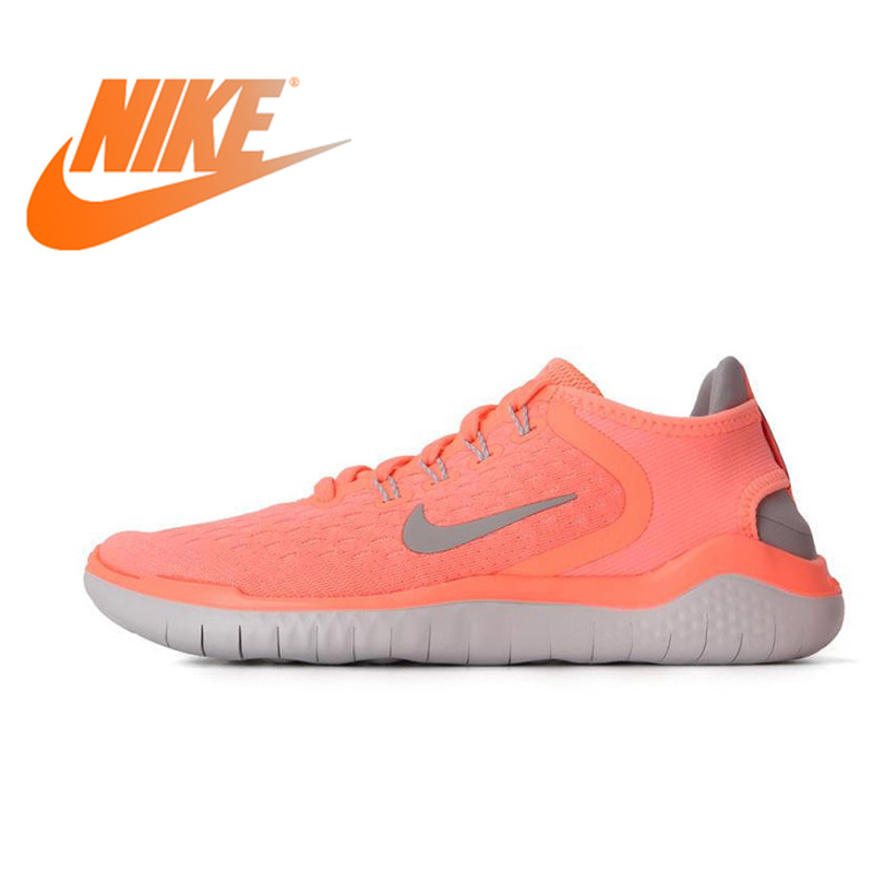 Nike Original 2018 NIKE FREE RN Women's Running Shoes Breathable Comfortable Anti-slippery Sport Outdoor Low-top Sneakers 942837