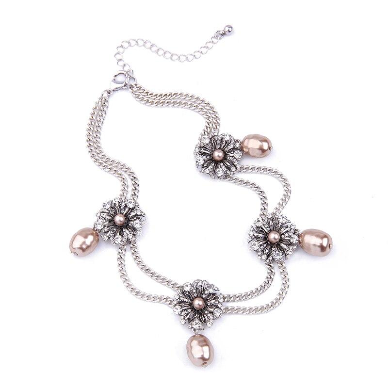 KISS ME Νέες Διπλές Αλυσίδες Crystal - Κοσμήματα μόδας - Φωτογραφία 4
