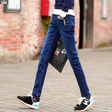 2016 Limited Zipper Fly Light Cotton Mid Softener Pencil Pants New Men s Clothing Slim Stretch