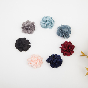 20 PCS 5.5CM Cloth Flowers Con