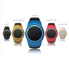B20 Bluetooth Speaker movement Music watch Portable Mini Watch Bluetooth 2.1+EDR Sport Speaker TF Card FM Audio Radio Speakers