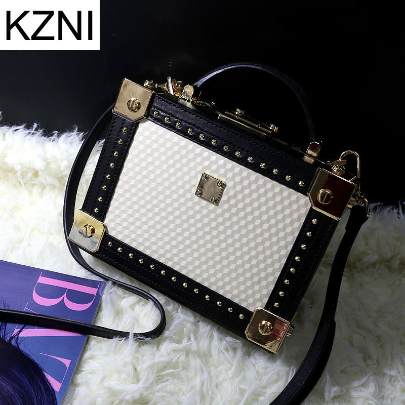 KZNI Genuine Leather Purse Crossbody Shoulder Women Bag Clutch Female Handbags Sac a Main Femme De Marque L110613 kzni genuine leather purse crossbody shoulder women bag clutch female handbags sac a main femme de marque l123103