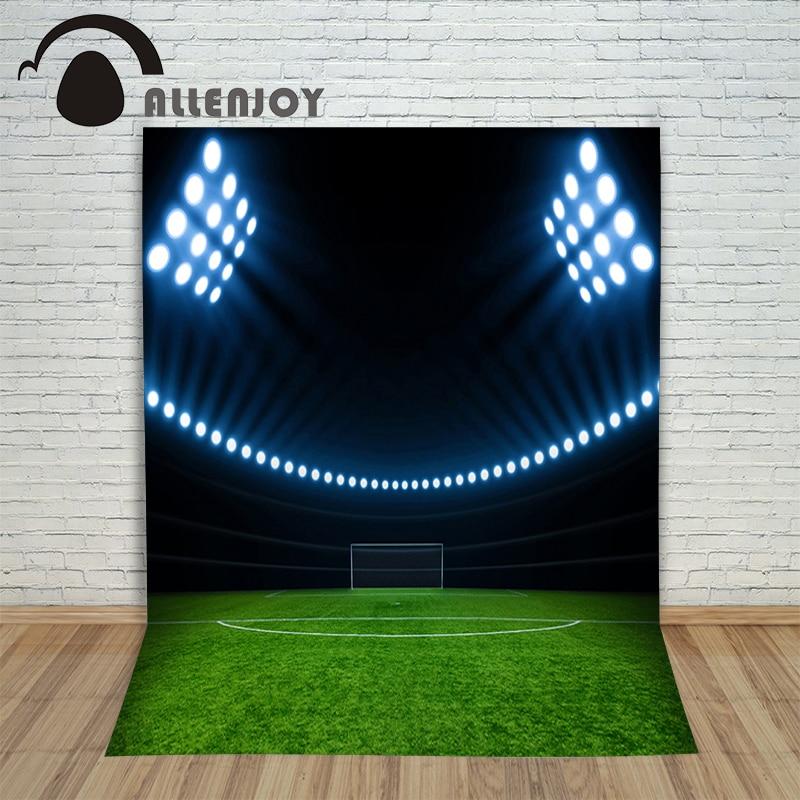 Allenjoy foto fundo vinil foto estúdio fundo futebol jogo verde - Câmera e foto