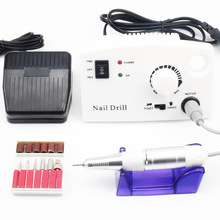 hot deal buy nail drill machine 30000rpm for electric manicure drill machine nail cutter & accessory with milling cutter pedicure nail files