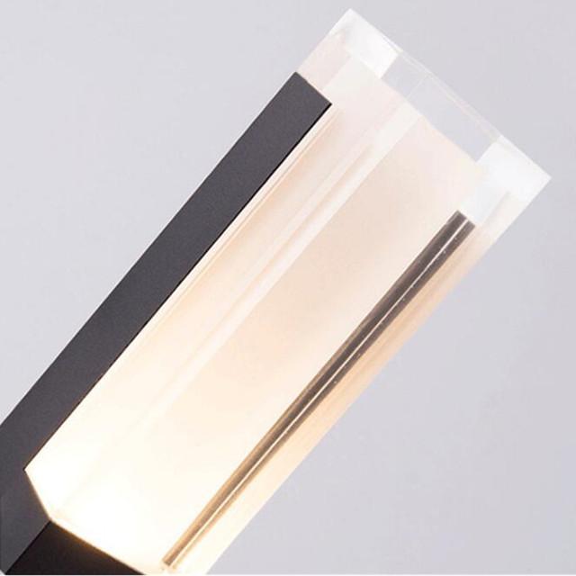 10W COB LED Exterior Bollard light H800mm outdoor floor light for garden IP67 waterproof aluminium AC85-265V led lawn light
