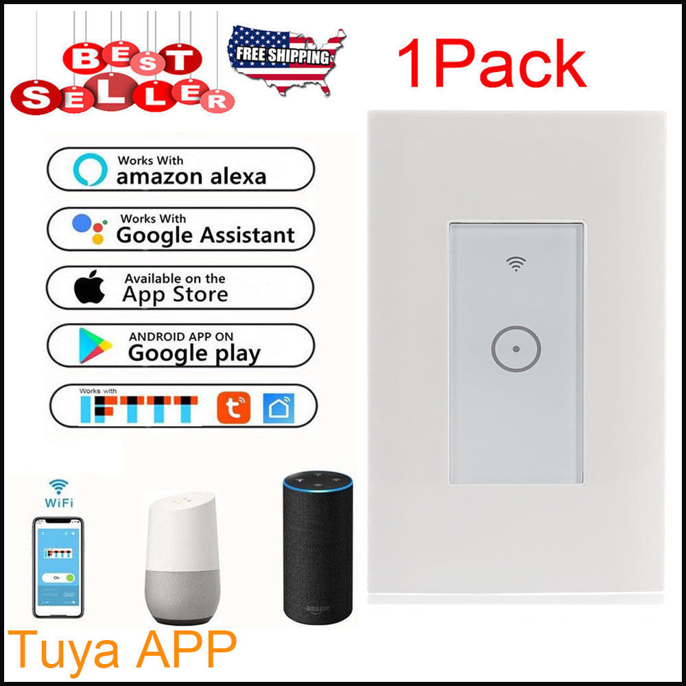 Wifi Smart Wall Touch Switch Wifi Light Switch Mobile APP