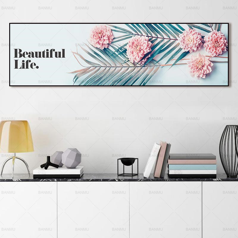 Artwork Wall Image Canvas Portray Print Plant On Canvas And Posters Image Wall Artwork Portray Ornament For Dwelling Room No Body