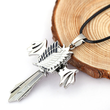 Attack on Titan Rotate Chain Necklace Cosplay Accessories