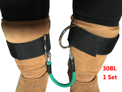 Natural Latex CrossFit Fitness Resistance bands pull up rope 15 bl to 35 belts with 1 pair ankle straps  wrist belt