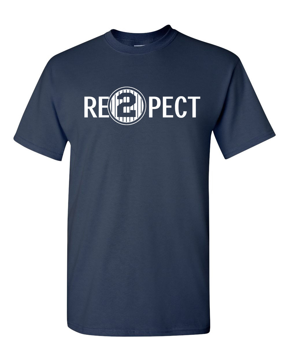 LEQEMAO Quality Print New Summer Style Cotton Respect 2 Re2pect Derek Jeter Captain Ny Yankees Mens Tee Shirt 1173 ...