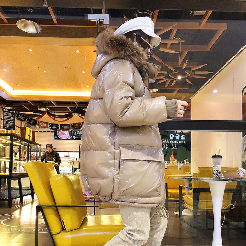 Vers Raton Capuchon Le Femmes Manteaux Bas Veste Chaud Coton En Fourrure Manteau Jacke À Naturel Étanche Collier Brillant 52 Laveur Parka Épaisse Vestes Hiver Black De camel HzfgwO