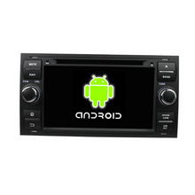 ROM 16G Quad Core 1024*600 Android 5.1.1 Fit Ford Focus Galaxy 2005 2006 2007 Car DVD Player GPS TV 3G Radio navigation