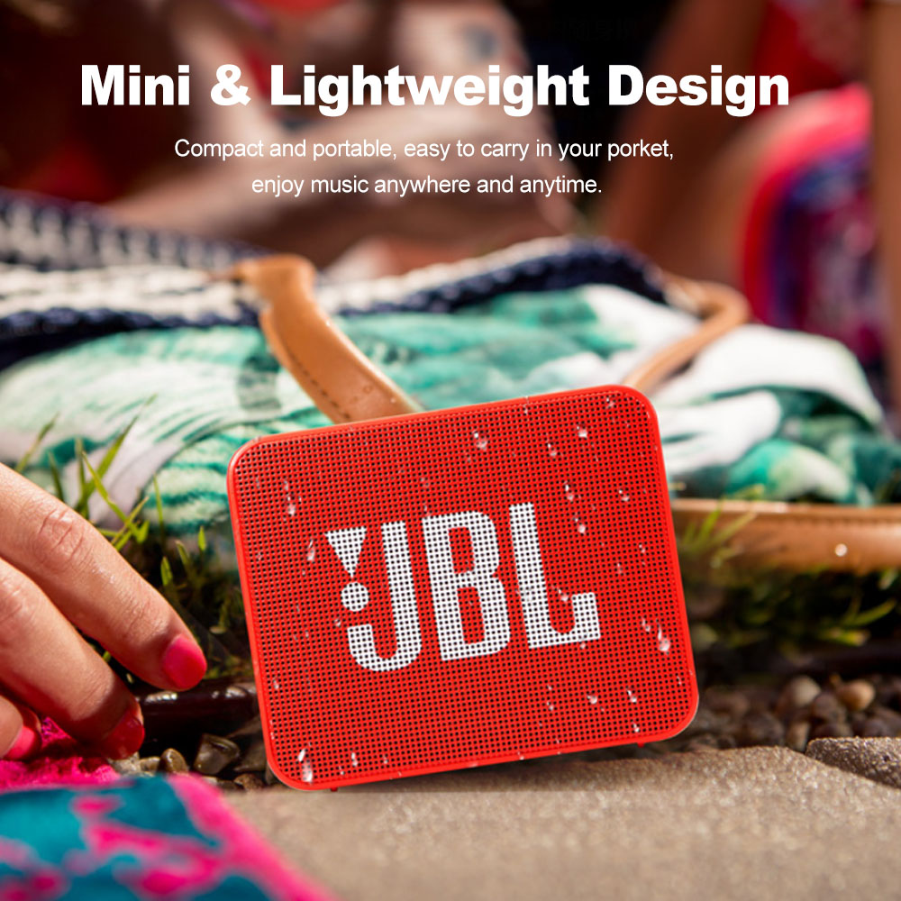 JBL GO2 Wireless Bluetooth Speaker With IPX7 Waterproof Rechargeable Battery And Mic 3