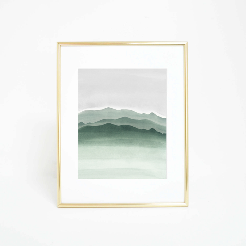 nature canvas printing Home Deocr