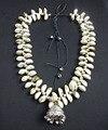 N2016051002 Más Nuevo Viento Playa Pequeña Concha Fresca Colgante Simple Pequeña Campana Cuerda Declaración Vintage Unique Collar Gargantilla Collares