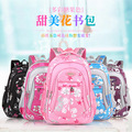 New Floral Printing Children School Bags Backpacks For Girls Boys Teenagers Cute Trendy Schoolbag Kids
