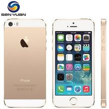 Orijinal Apple iPhone 5 5s Çift Çekirdekli 16 GB/32 GB/64 GB ROM 1 GB RAM 8MP kamera IOS Dokunmatik KIMLIK Fabrika kilidi açılma...