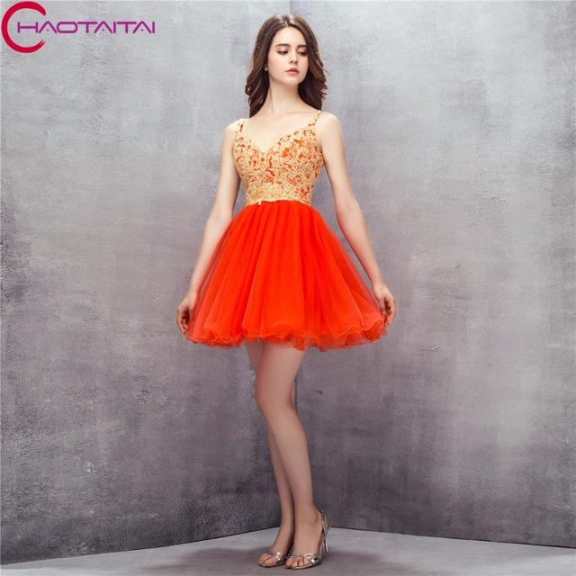caf1294996c Organza Short Sweetheart Mini Cocktail Dresses Girls Puffy Tulle Prom Party Short  Gowns For Graduation Sweet 16 Years