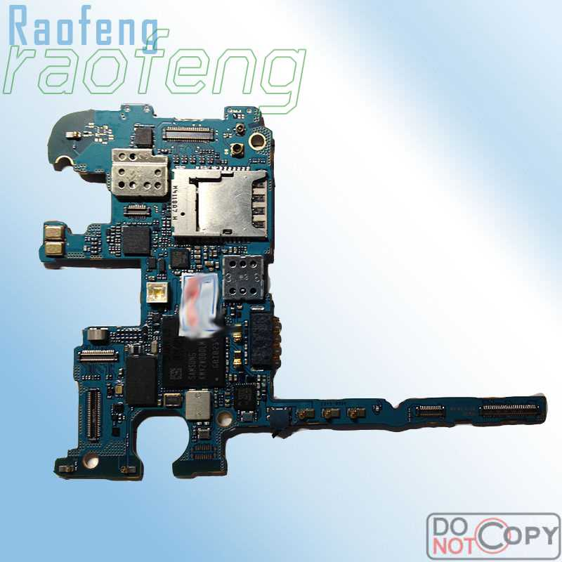 Raofeng Unlocked Motherboard For Samsung Galaxy Note 3