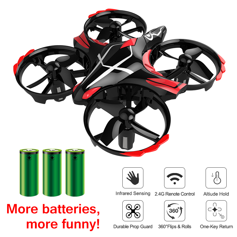 JJRC H56 TaiChi Mini Drone Micro Quadcopter Altitude Hold Quadrocopter VS H36 Upgrade Helicopter Kids Remote Control Dron Toys image