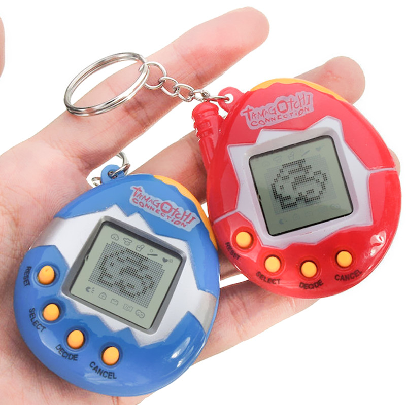 Virtual Cyber Digital Tamagochi Pets Electronic Juguetes E-pet Retro Funny Toy Handheld Game Machine  Gift For Children