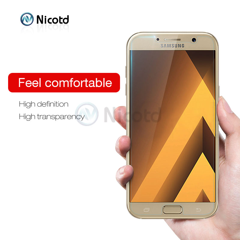 Nicotd 9H Clear Tempered Screen Protector Glass Film For Samsung Galaxy Models 15