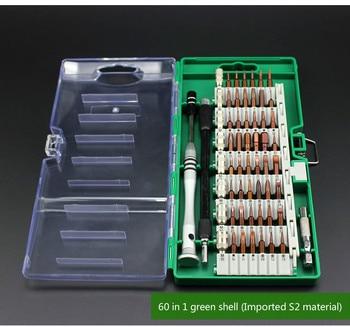 60 в 1 импорт S2 сталь новый набор отверток точное оборудование ремонт мобильного телефона Разборка инструменты для ремонта iPhone Samsung
