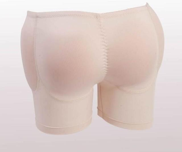 PRAYGER Women 4 Sillicon Inserts Control Panties Bum Enhancers Buttock Hip lifter Shaper Removable Pads Underwear