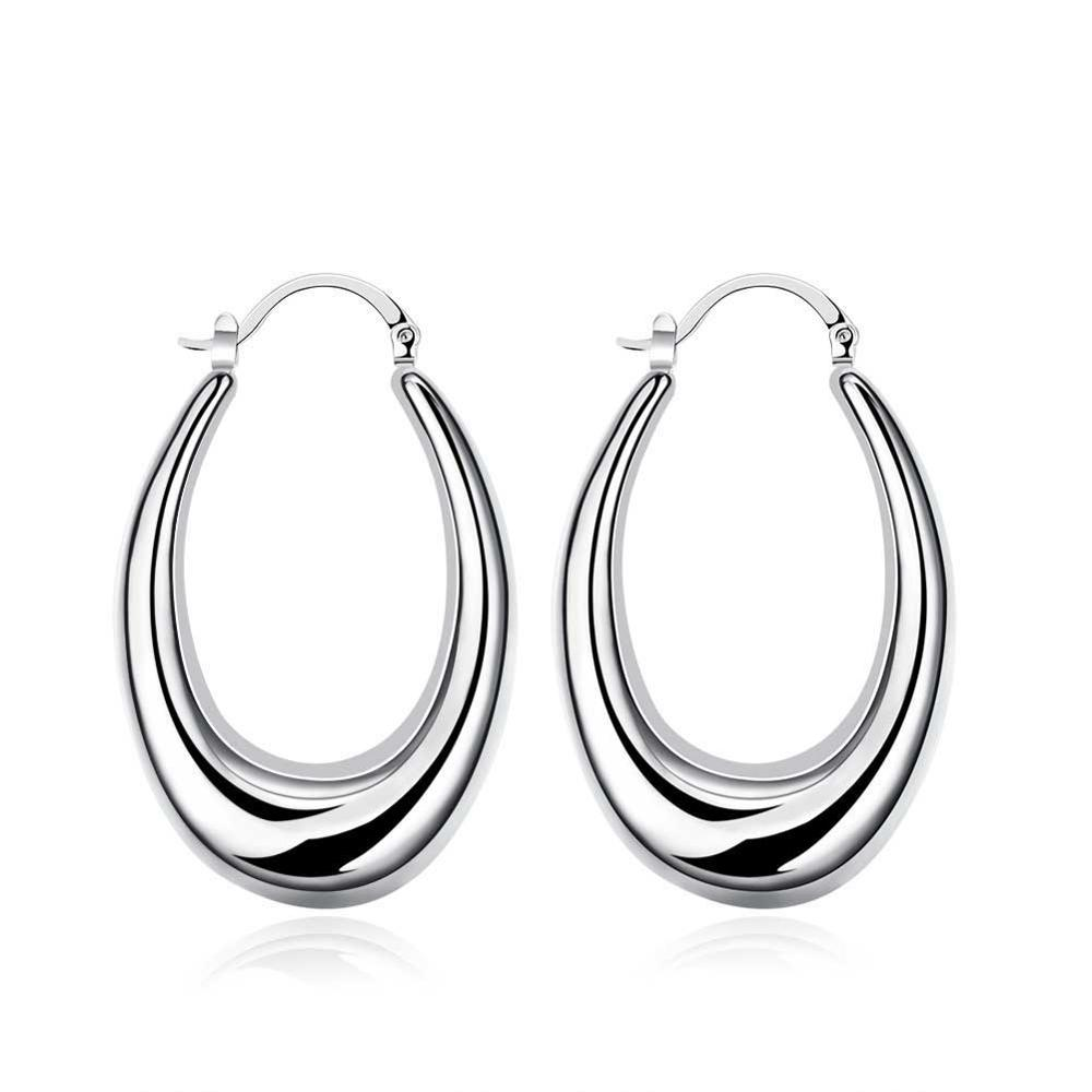 Most Trendy And Fancy U Shape Silver Piercing Clip On Earrings Online  Shopping For Women Girls