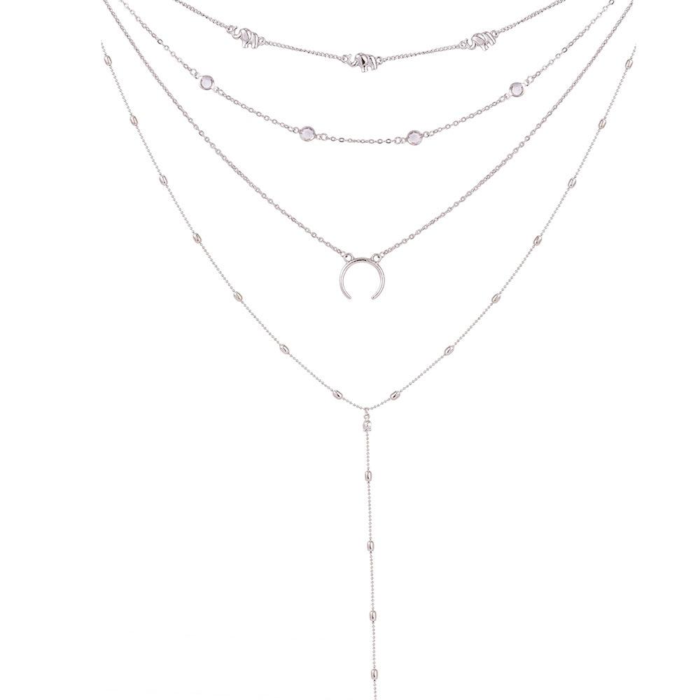 0e3df111588 Gold color Choker Necklace for women Long moon Tassel Pendant Chain  Necklaces   Pendants Laces velvet chokers Fashion Jewelry. information2. 1.  2