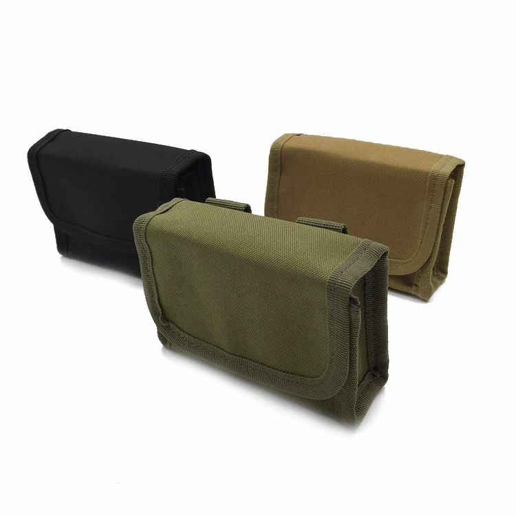 Molle Bullet Pouch 10 Holes Magazine Scattered Bags hunting supplies Multi-functional Tactical Belt Package Army Accessories