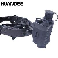 HUANDEE 1X24 Тактический Охота оптика прицел Ночное видение s бинокль и, трекер Ночное видение для охотника