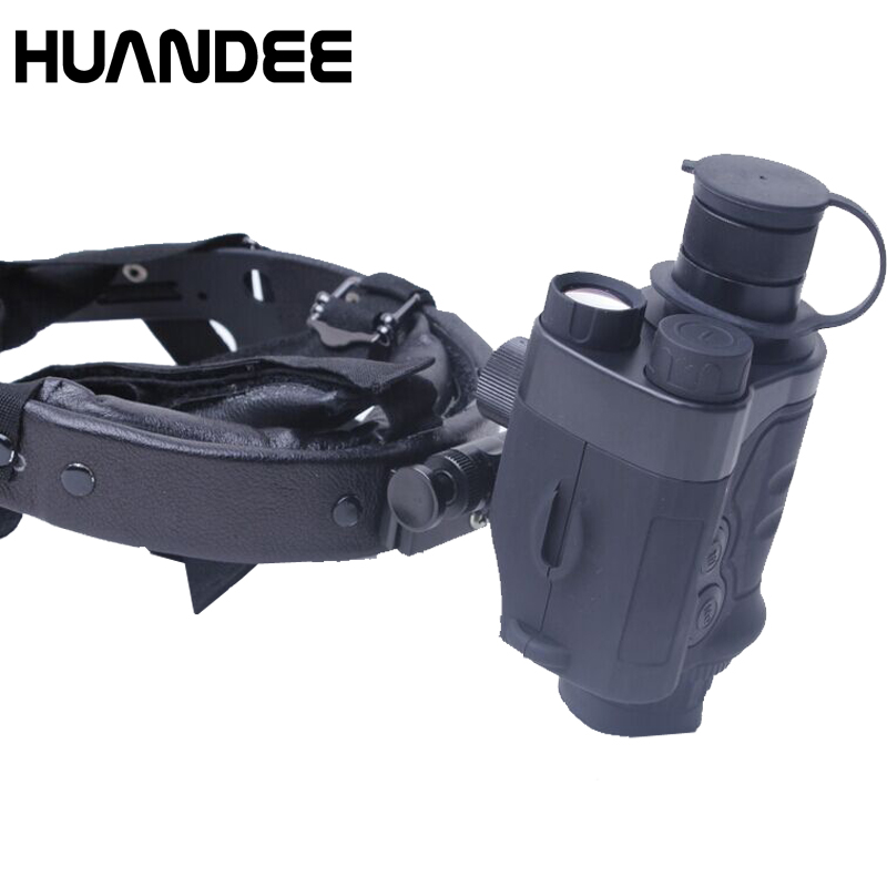 HUANDEE 1X24 Tactical Hunting Optics Sight Night Visions Binoculars & Goggle Tracker Night vision For Hunter chasse outdoor hunting optical sight riflescopes tactical digital binoculars night vision for russia shooting