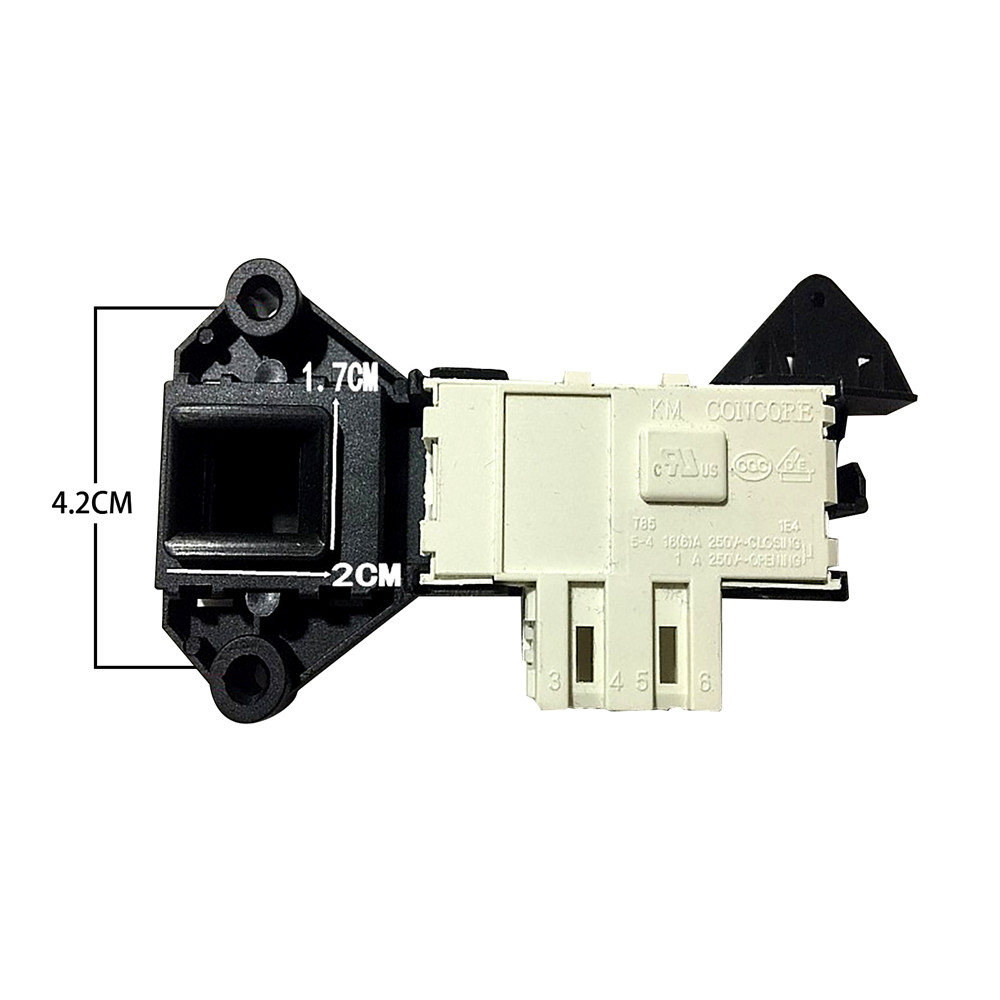 Interlock Door Lock Switch 481228058048 For Whirlpool Washing Machine A2000 AWM027 AWM045 AWM049 G2PWM1 HDW6000 Accessories