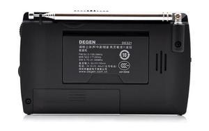 Image 4 - Original Degen de321 FM Stereo digital radio MW SW Radio DSP World Band Receiver high quality portable Radio FM Best Price